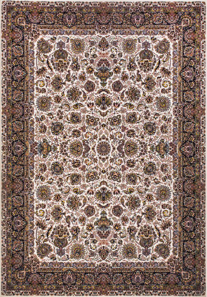 فرش ماشینی درباری کرم