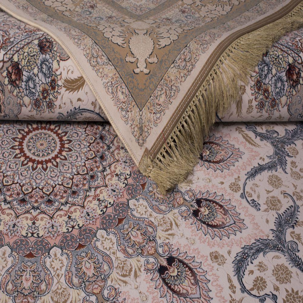 فرش ماشینی رویا کرم 2