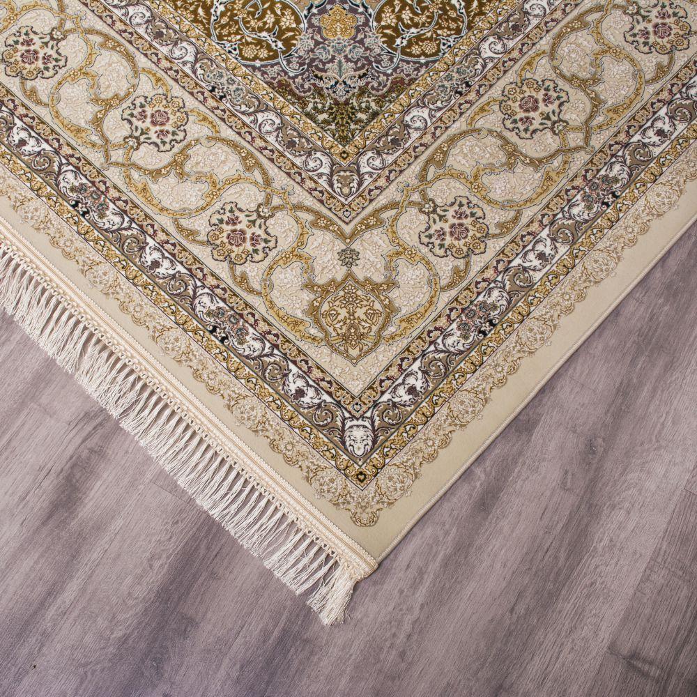 فرش ماشینی 1545 کرم چرک- 3