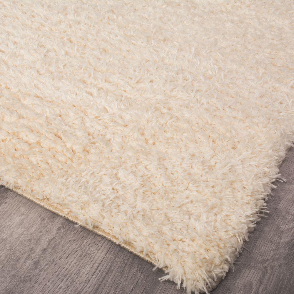 فرش شگی فلوکاتی کرم 3