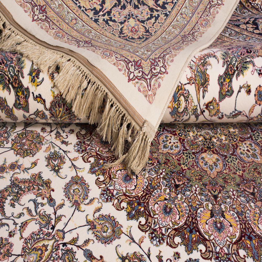 فرش ماشینی اصفهان کرم 3