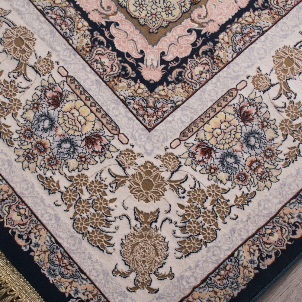فرش ماشینی رویا سرمه ای 3