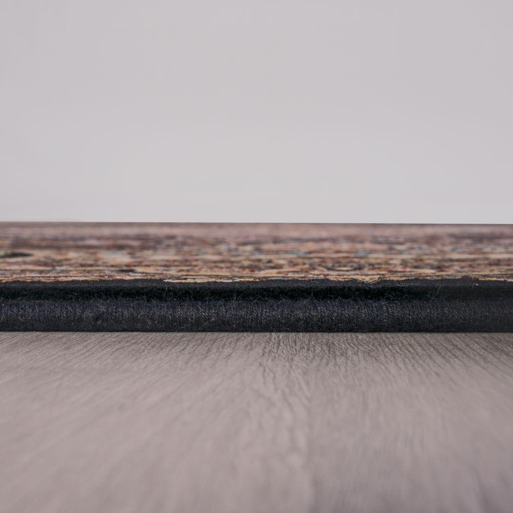 فرش ماشینی آبتین سرمه ای 4
