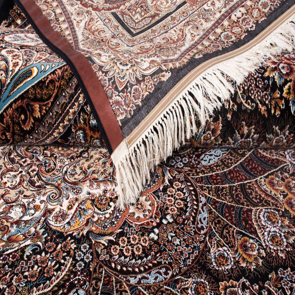 فرش ماشینی آبتین سرمه ای 5