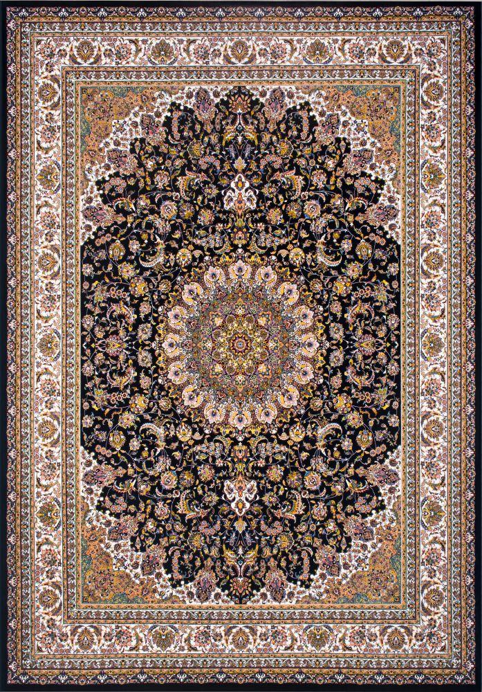 فرش ماشینی اصفهان سرمه ای