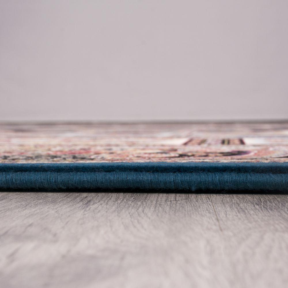 فرش ماشینی حوض نقره کاربنی 5