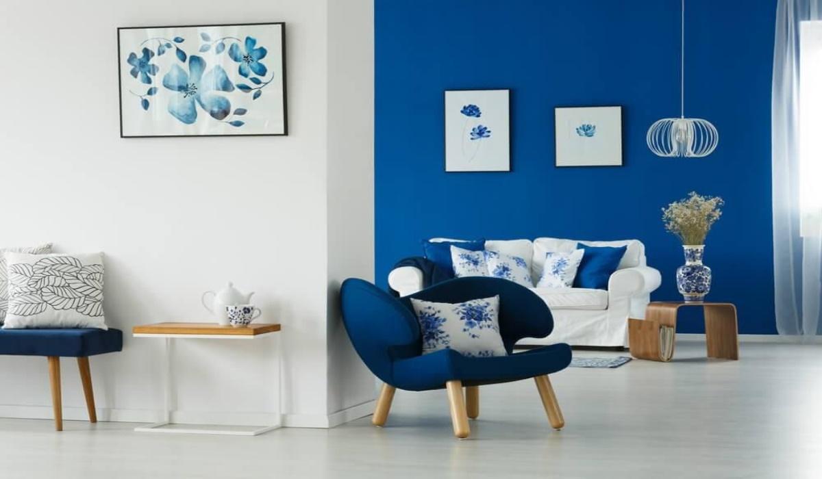 دکوراسیون داخلی با رنگ آبی