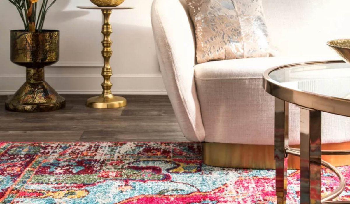 فرش در دکوراسیون داخلی