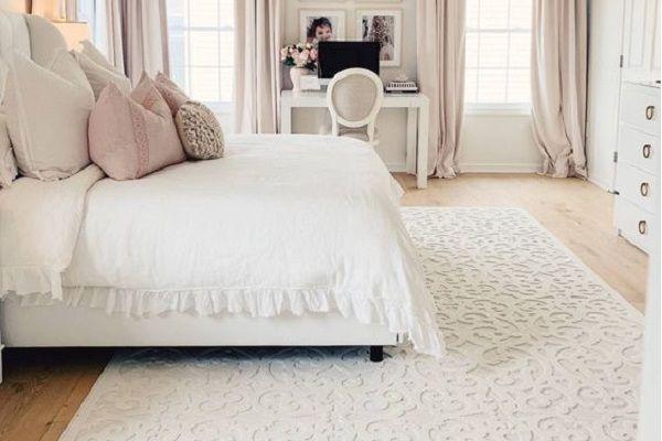 فرش در اتاق خواب