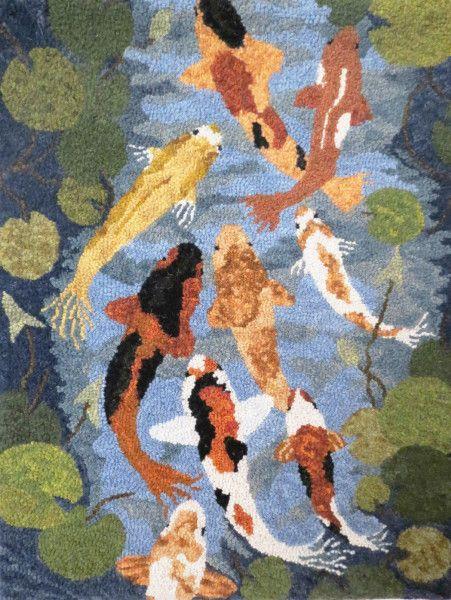 قیمت فرش طرح ماهی