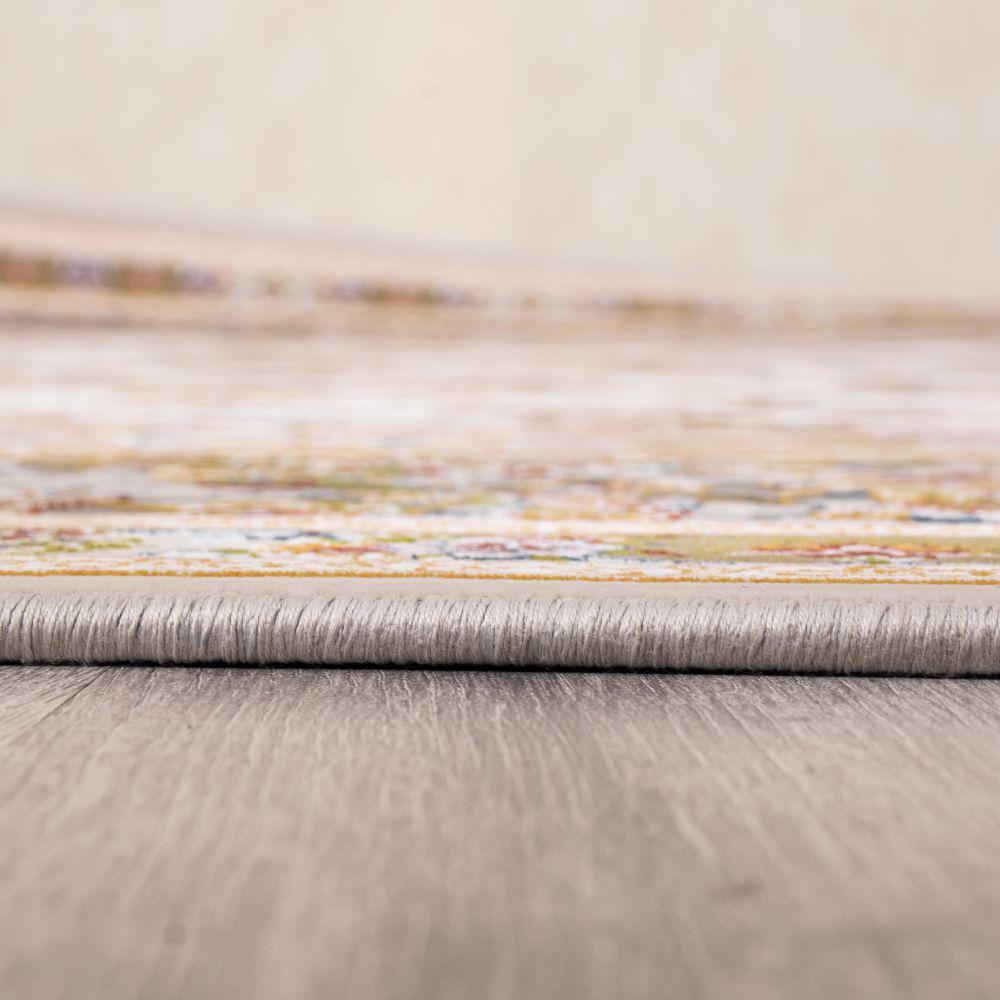 فرش ماشینی گل افشان سیلور 4