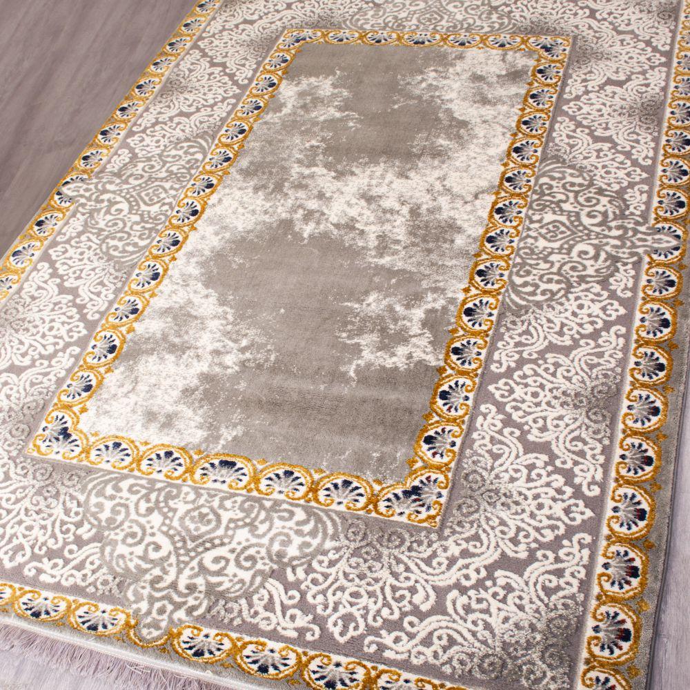 فرش مدرن 6206 طلایی 3