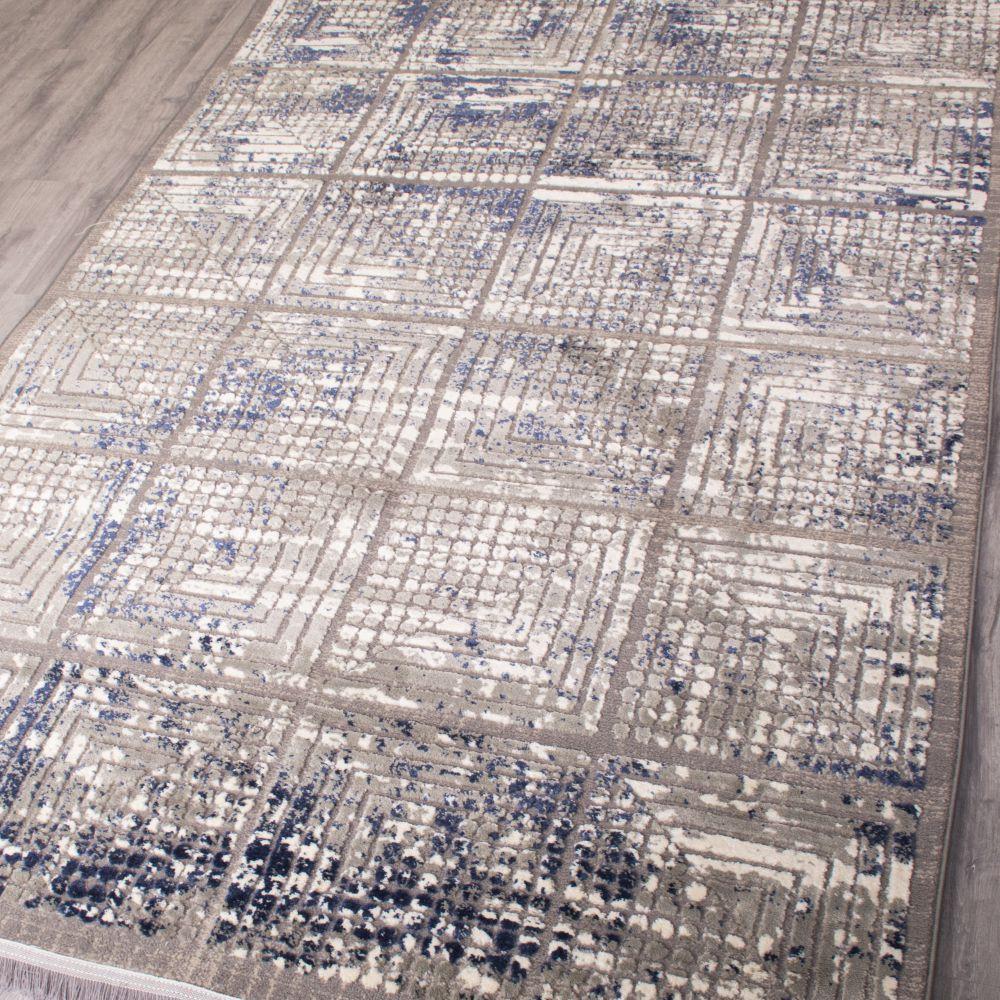 فرش مدرن 6502 طوسی 3