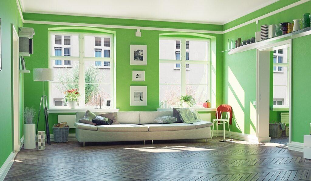 رنگ دکوراسیون داخلی