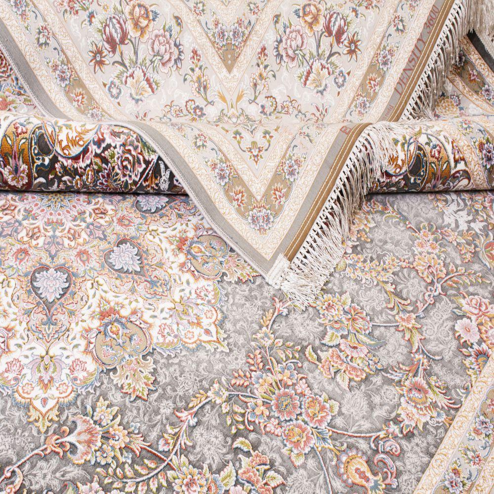 فرش ماشینی جواهر دودی 5