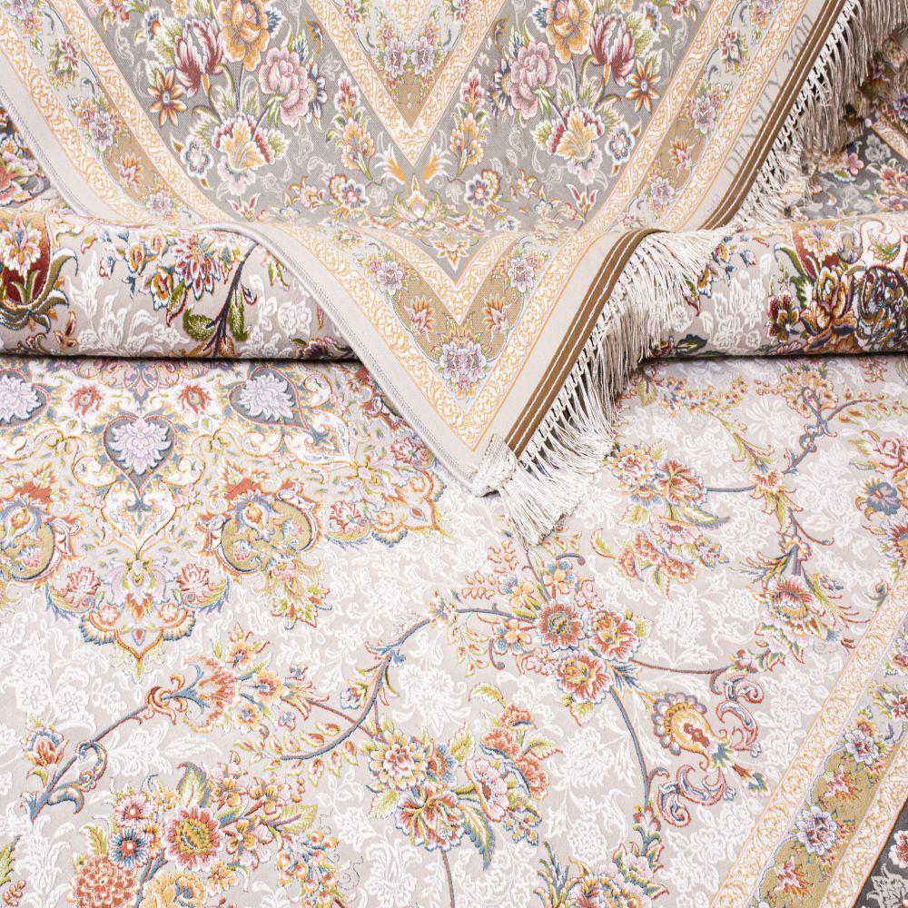 فرش ماشینی جواهر سیلور 5