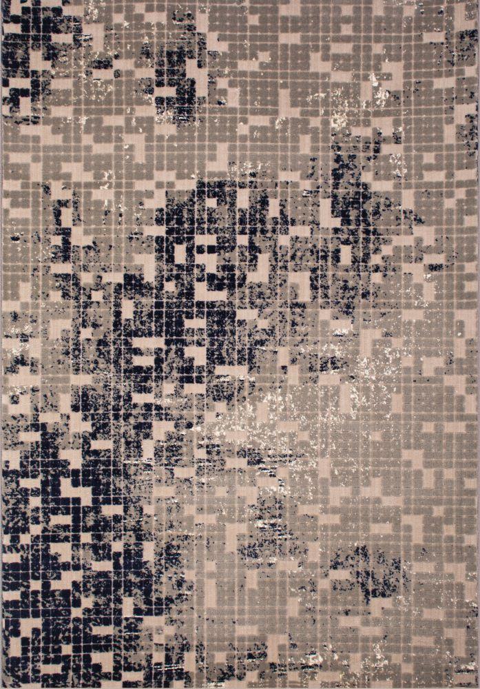 فرش مدرن 6051 نسکافه ای