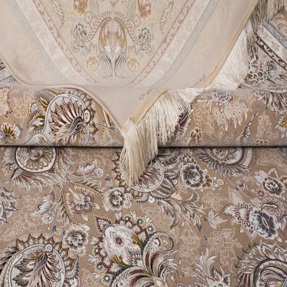 فرش ماشینی النا نسکافه ای ۳