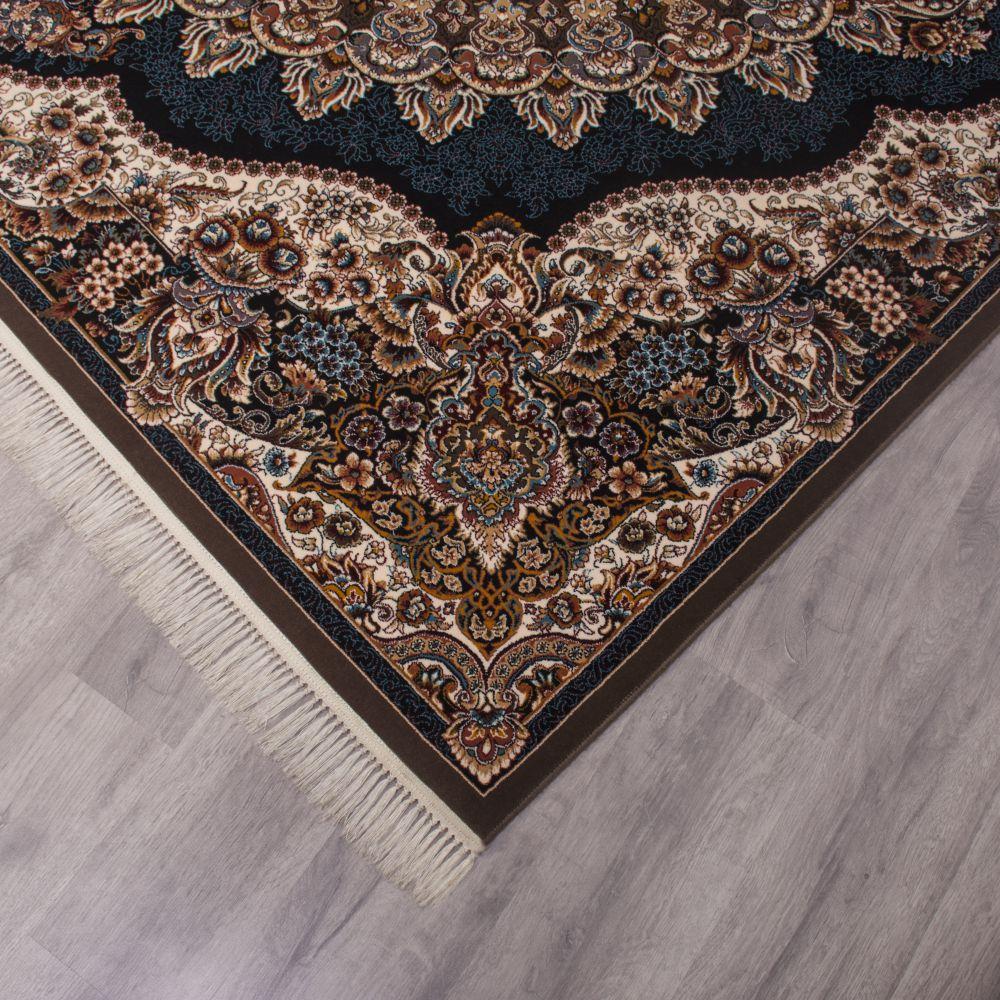 فرش ماشینی ارکیده گردویی 3
