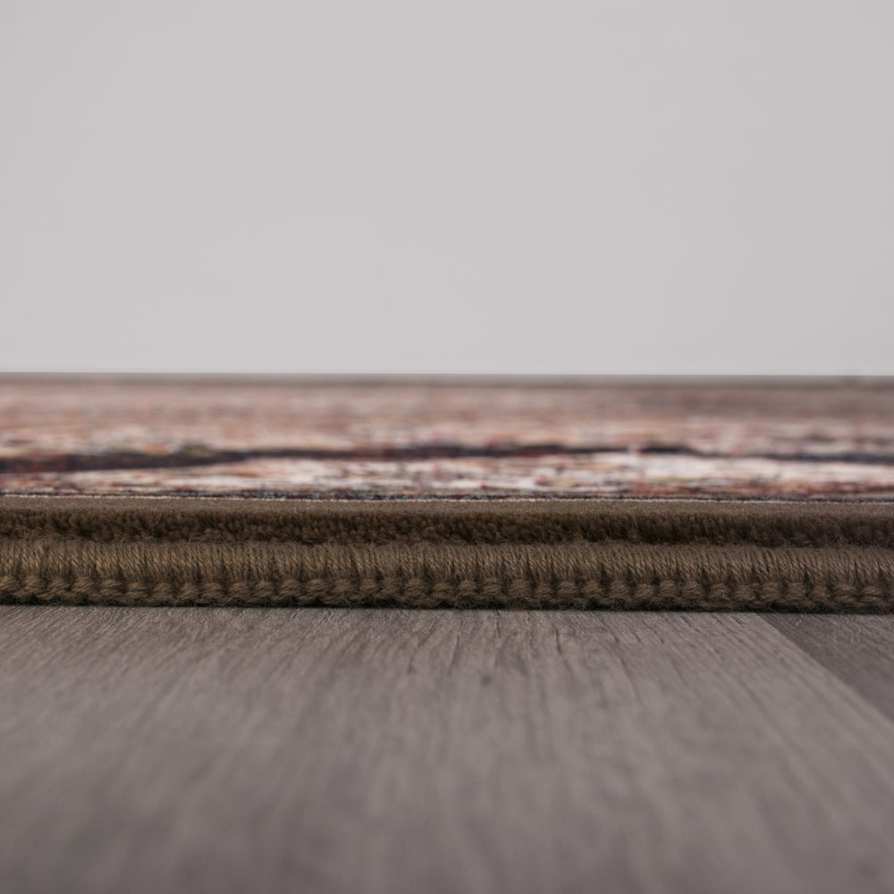 فرش ماشینی ارکیده گردویی 4