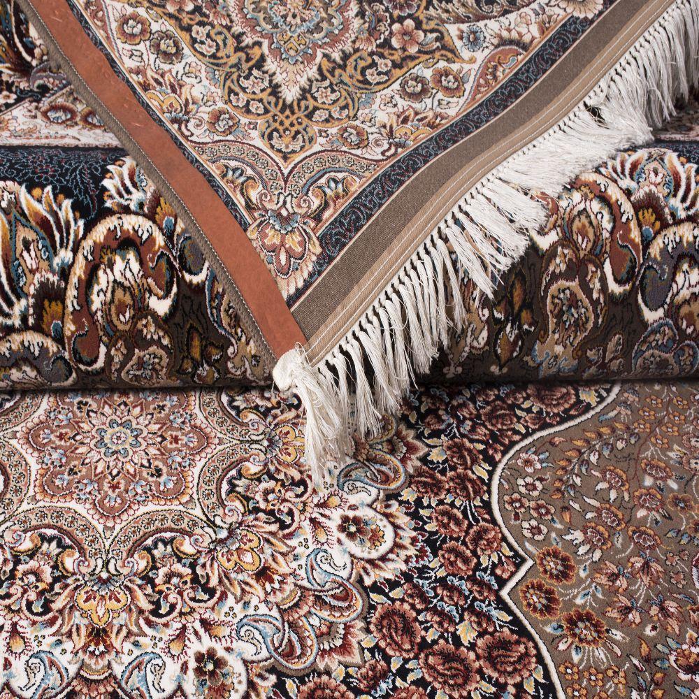 فرش ماشینی ارکیده گردویی 5