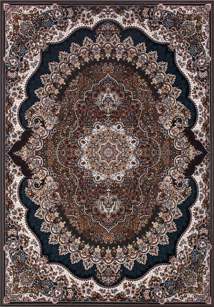 فرش ماشینی ارکیده گردویی