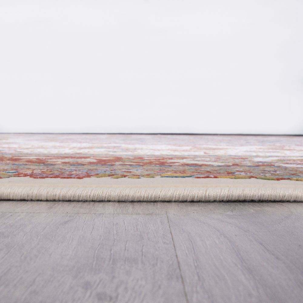 فرش ماشینی لیلیوم کرم مسی 5