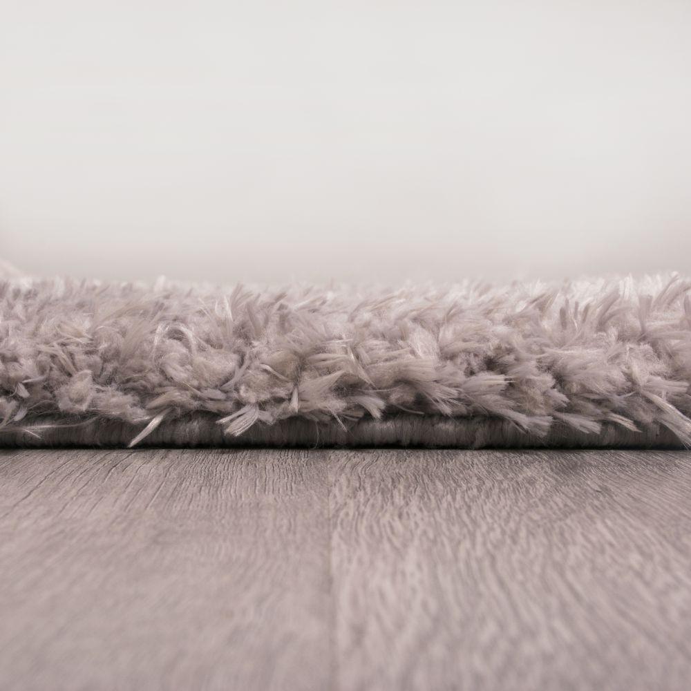 فرش شگی فلوکاتی طوسی موشی 5
