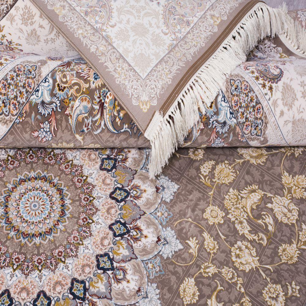 فرش ماشینی پیچک نسکافه ای 4