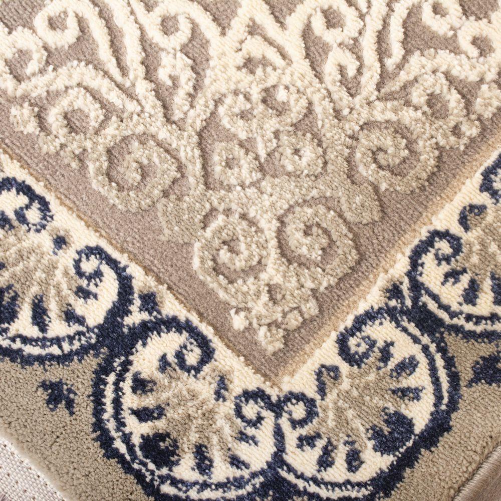 فرش فانتزی 6203 نقره ای 2