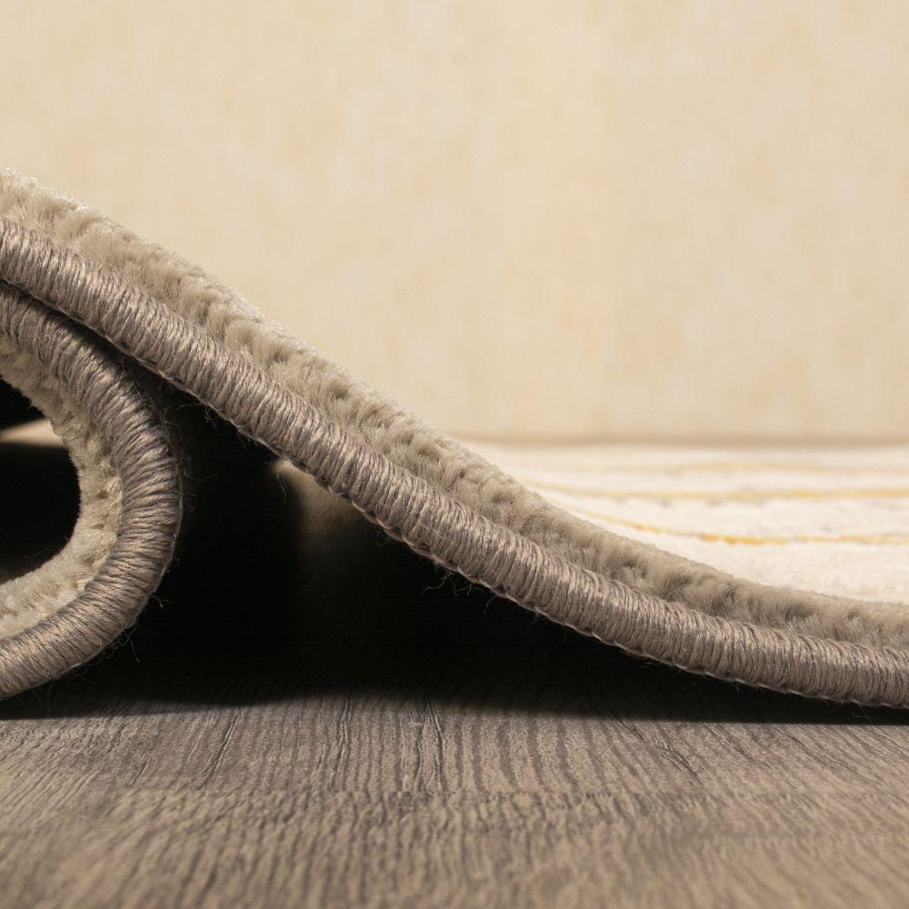 فرش فانتزی 6353 نقره ای 4
