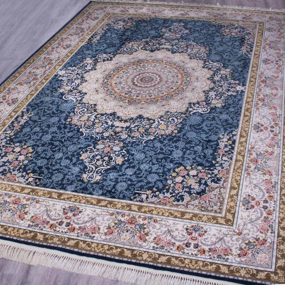 فرش ماشینی رایحه آبی 2