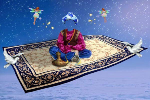 قالیچه حضرت سلیمان 2