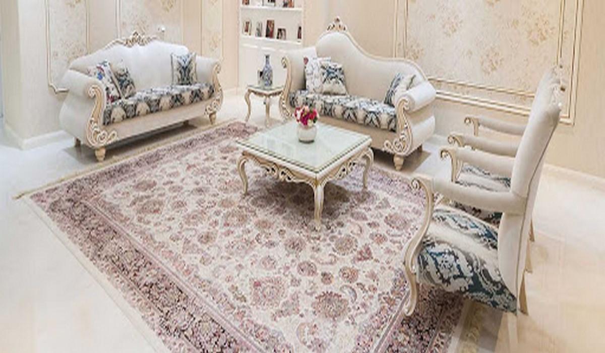 رنگ فرش پذیرایی