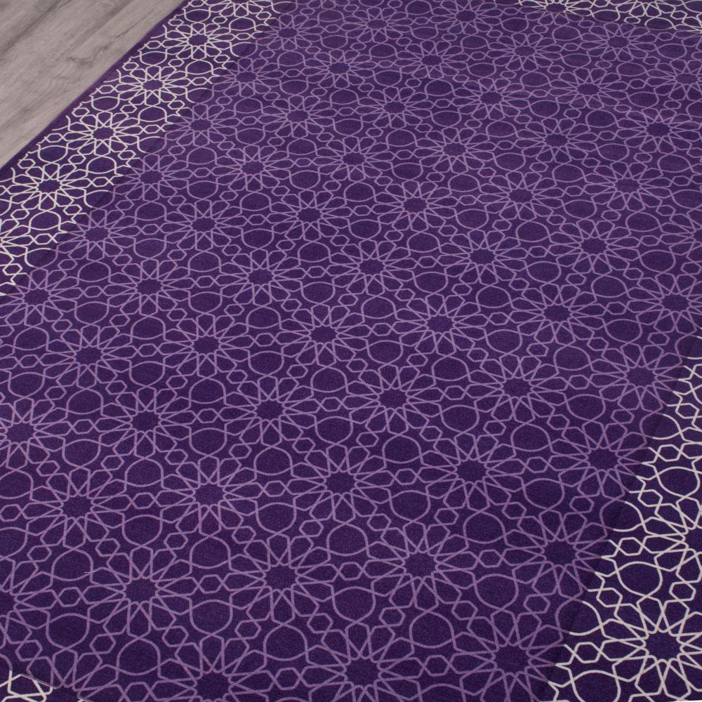 فرش فانتزی کلاریس 100475 بنفش 3