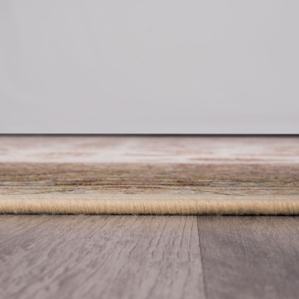 فرش ماشینی افشان سلطنتی کرم سفید 5