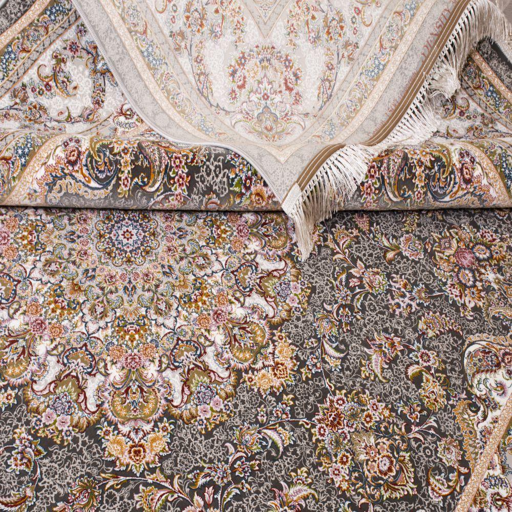 فرش ماشینی یاقوت دودی 5